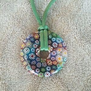 Jewelry - ❄Murano glass pendant necklace